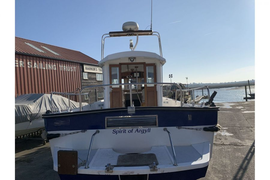 Hardy Fisherman 24 Extended Wheelhouse - swim platform and aft
