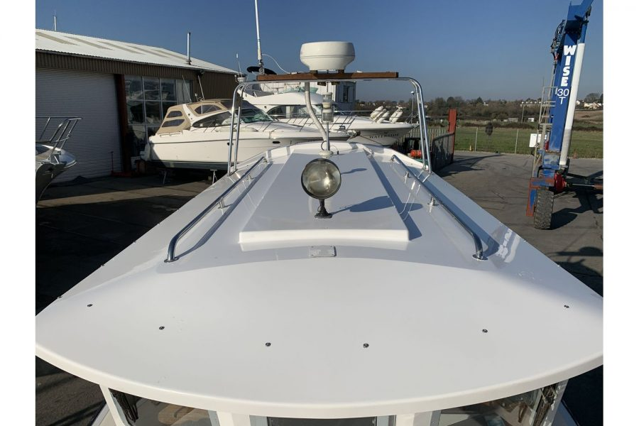 Hardy Fisherman 24 Extended Wheelhouse - wheelhouse roof lights