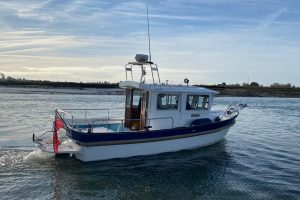 Hardy 24 Fisherman Extended Wheelhouse