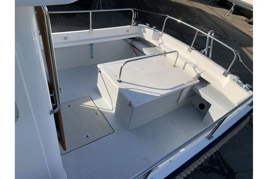 Hardy Fisherman 24 Extended Wheelhouse - safe cockpit