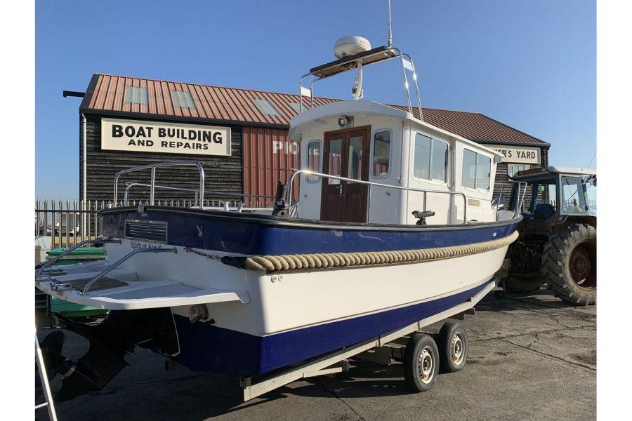 Hardy Fisherman 24 Extended Wheelhouse - starboard aft