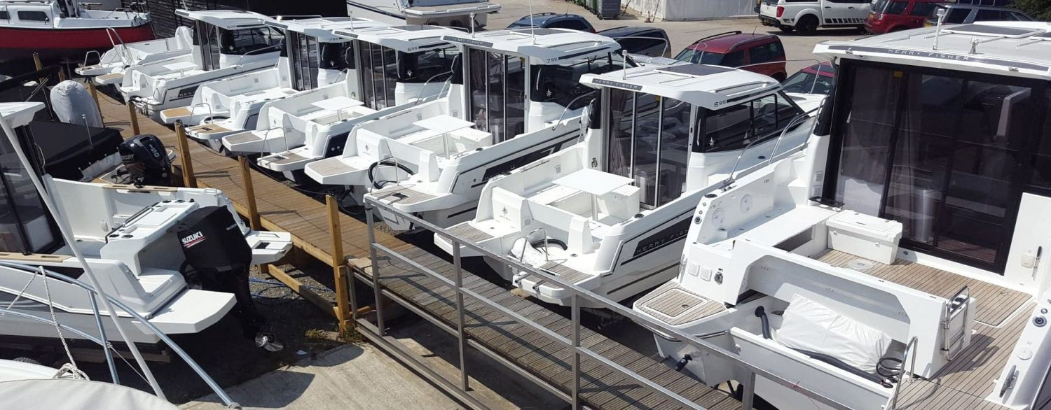 Merry Fisher boats in stock at Morgan Marine