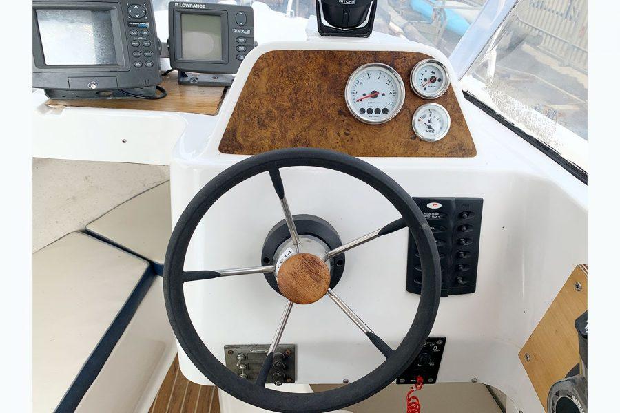 Quicksilver 620 - helm position