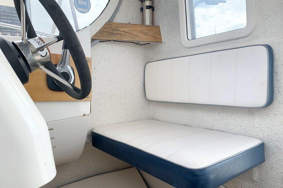 Quicksilver 620 - pilot seat