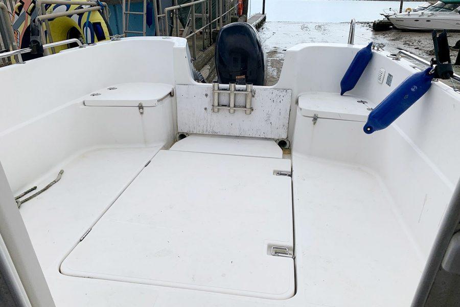 Quicksilver 620 - cockpit