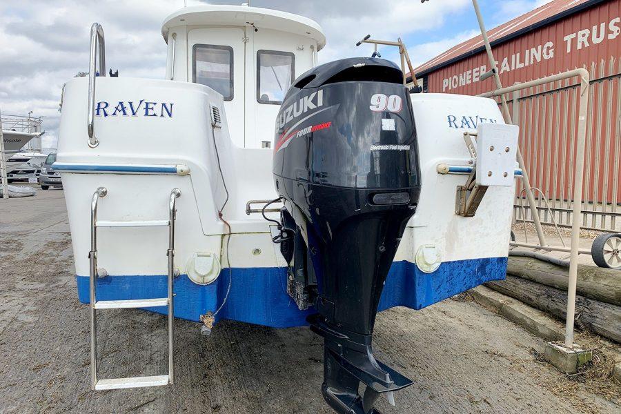 Quicksilver 620 - Suzuki 90hp outboard