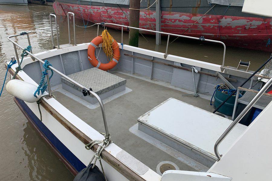 Starfish 8m - deep cockpit and high side rails