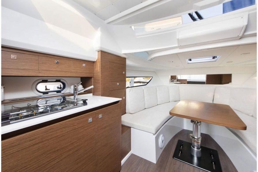 Jeanneau Cap Camarat 10.5 WA - galley in cabin