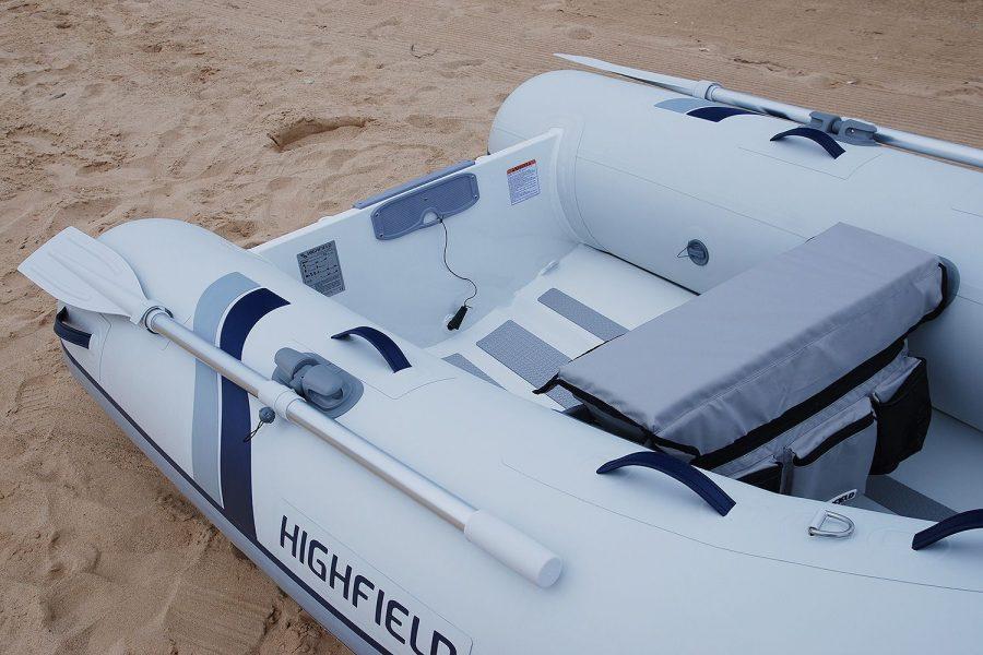Highfield UL 260-aluminium-RIB - bench seat
