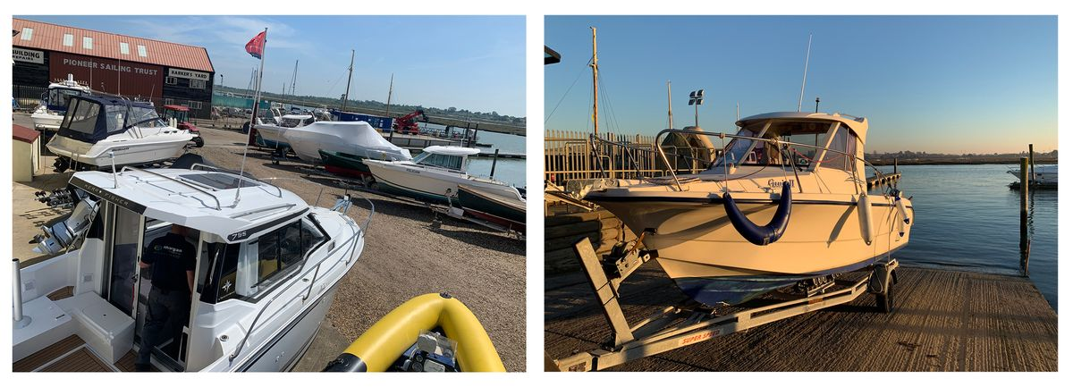 Park & Ride - boat launching and recovery at Morgan Marine