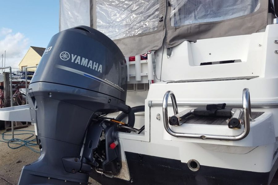 Jeanneau Merry Fisher 755 - with Yamaha 150hp outboard