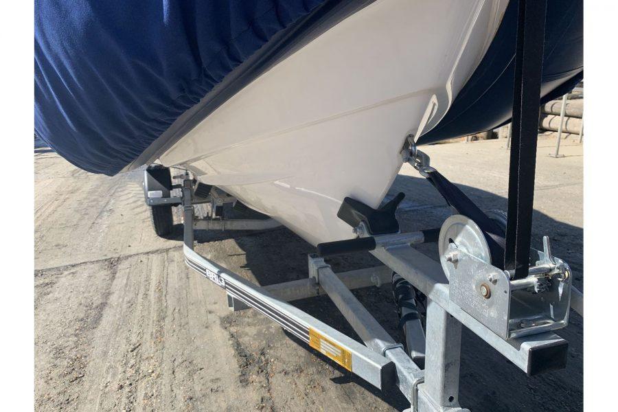 Vanguard DF 500 RIB - roller trailer