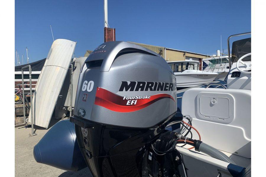 Vanguard DF 500 RIB - Mariner 60hp outboard