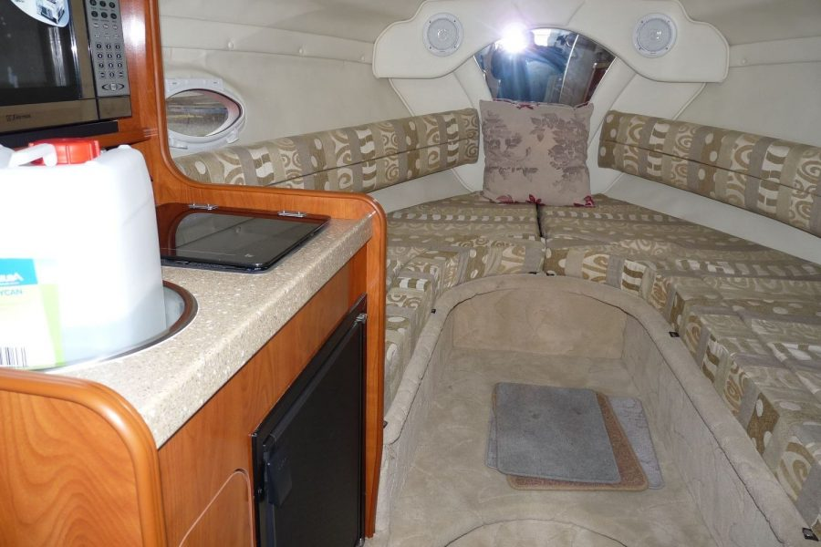 Rinker Fiesta Vee 250 - cabin