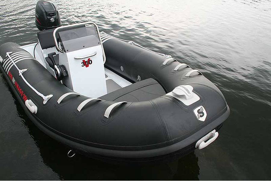 Excel Virago 350 RIB - view from bow