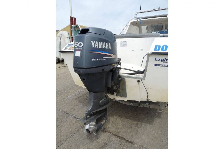Explorer Elite fishing boat - Yamaha 60hp outboard