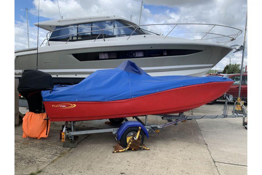 Fun Yak 15 boat - overall cover
