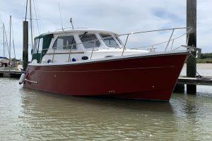 Jersey 30 Diesel Motor Cruiser