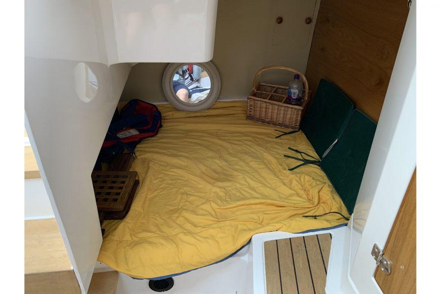 Jersey 30 motor cruiser - 2nd cabin