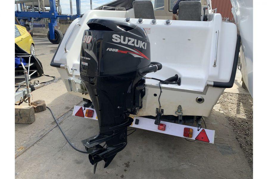 Warrior 175 fishing boat - Suzuki outboard