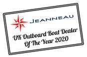 Morgan Marine awarded UK Jeanneau Outboard Dealer of the Year 2020!