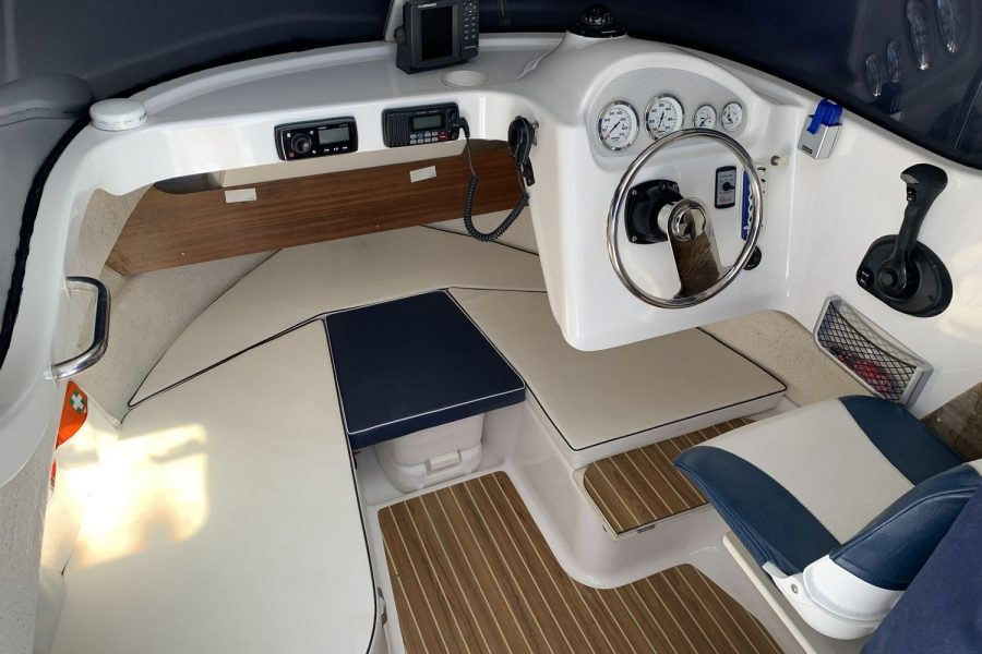 Quicksilver 640 fisherman - helm position and cuddy
