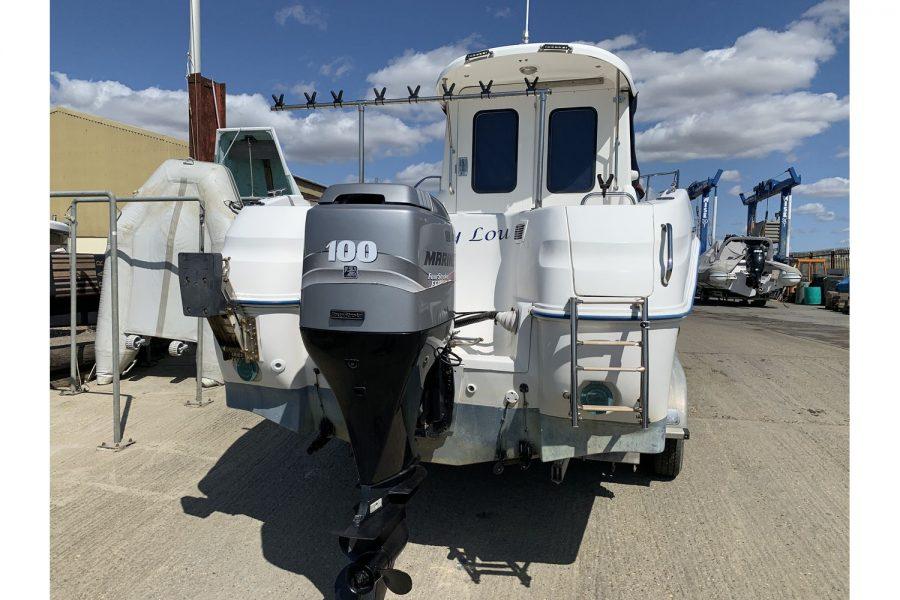 Quicksilver 640 fisherman - Mariner 100hp outboard