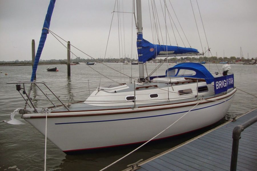 Westerly Griffon 26 - port side
