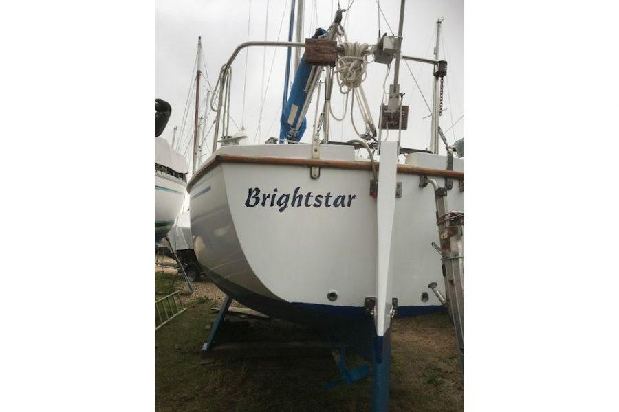 Westerly Griffon 26 - transom and rudder