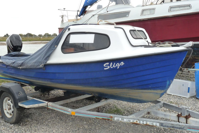 14ft Simulated Clinker Fishing Boat