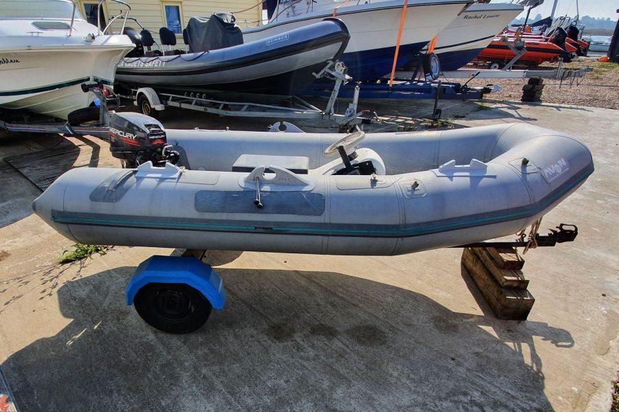 Avon 3.11M RIB - starboard side