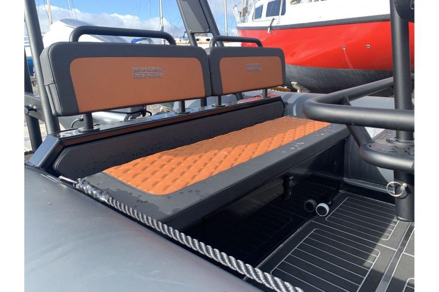 Highfield HX6 Aluminium RIB - aft bench seat
