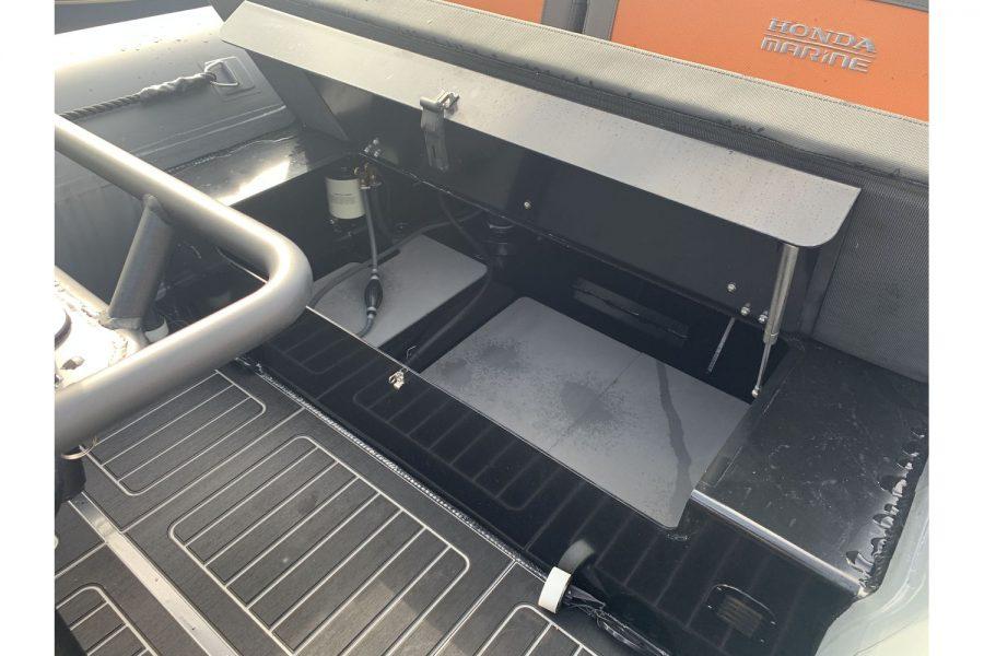 Highfield HX6 Aluminium RIB - transom storage
