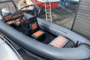 Highfield HX6 Aluminium RIB – with Honda BF 100hp