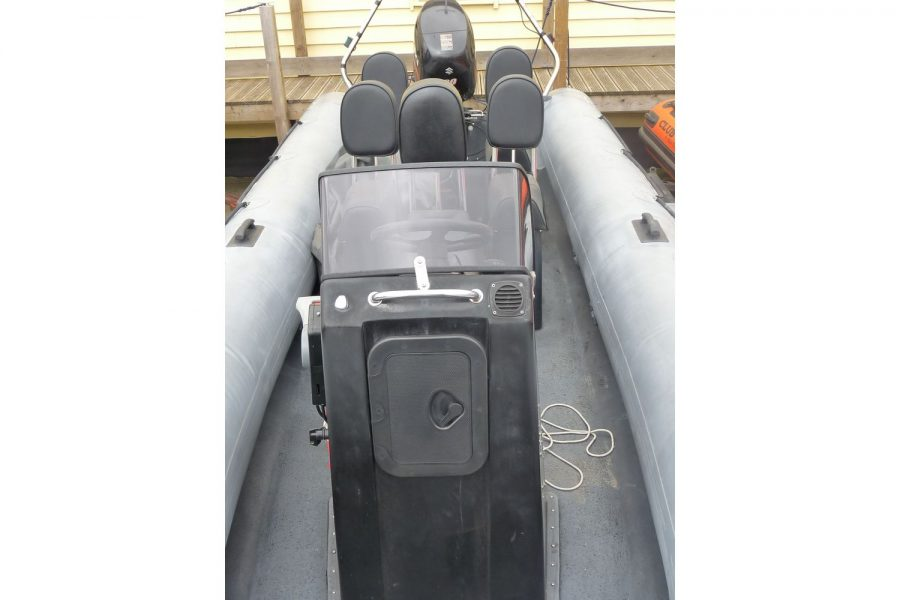 Humber Destroyer 7m RIB - view towards stern