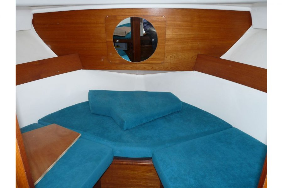 Jeanneau Merry Fisher 805 diesel - forward cabin