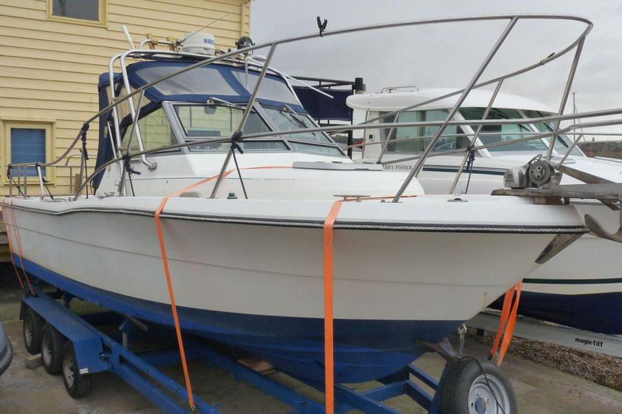 Pursuit 2350 fishing boat
