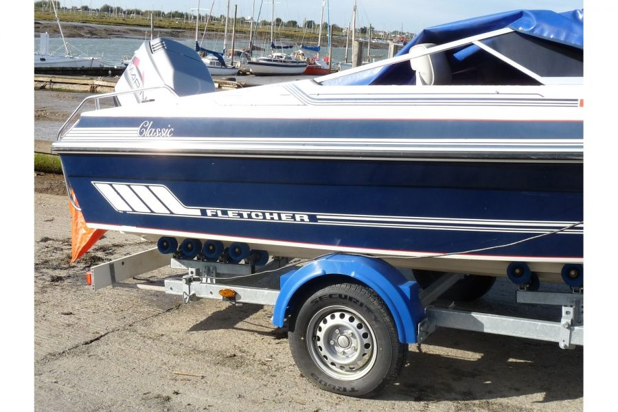 Fletcher Arrowhawk Classic Bravo 181 sportsboat - starboard side
