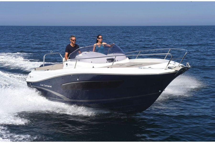 Jeanneau Cap Camarat 7.5 WA - Series 2 - view towards hull