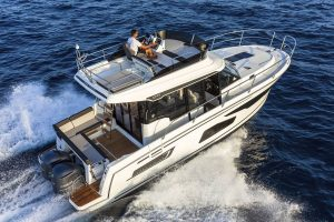 Jeanneau Merry Fisher 1095 Flybridge – Legend – 2x Yamaha 300 BETU