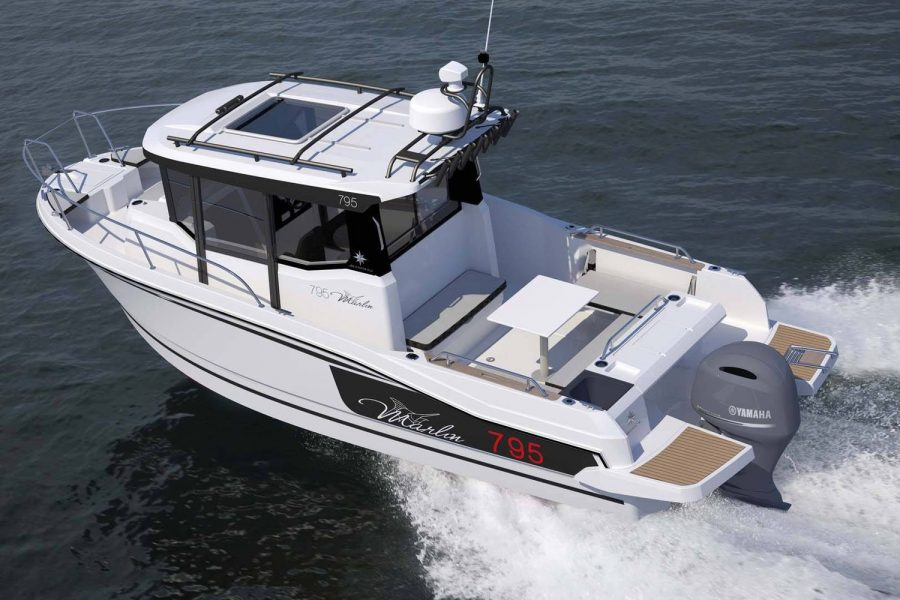 Jeanneau Merry Fisher 795 Marlin - overhead view