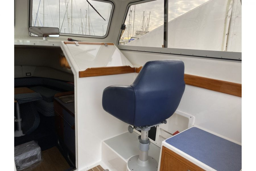 Hardy Mariner 25 - co-pilot seat