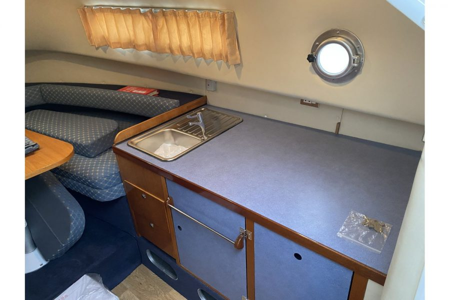 Hardy Mariner 25 - galley