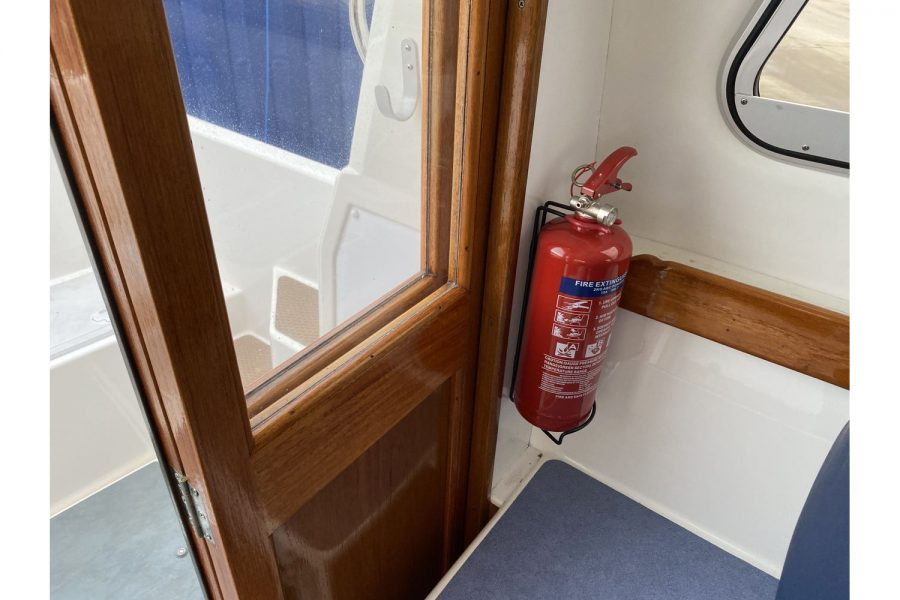 Hardy Mariner 25 - toilet compartment