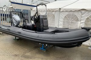 Highfield PA 500 aluminium RIB – with Honda BF80 LRTU