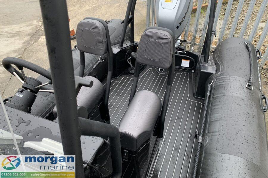 Highfield PA 500 aluminium RIB - jockey seats