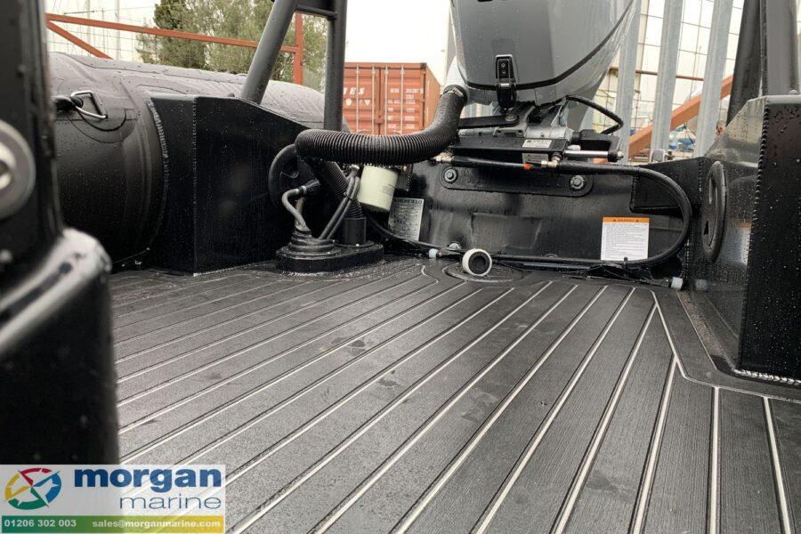 Highfield PA 500 aluminium RIB - large deck area