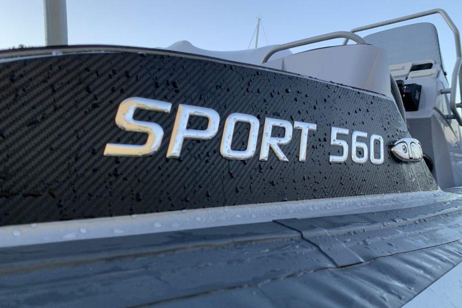 Highfield SP 560 aluminium RIB - Sport 560 decal