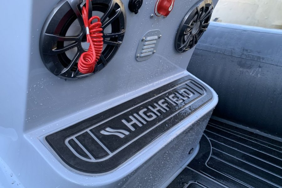 Highfield SP 560 aluminium RIB - speakers