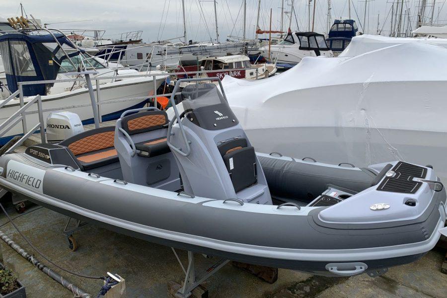 Highfield SP 560 aluminium RIB
